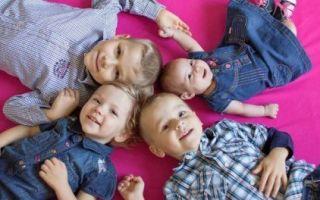 Алименты на 4 детей: размер и сумма, порядок взыскания — сколько процентов составляют алименты на 4 детей от заработка