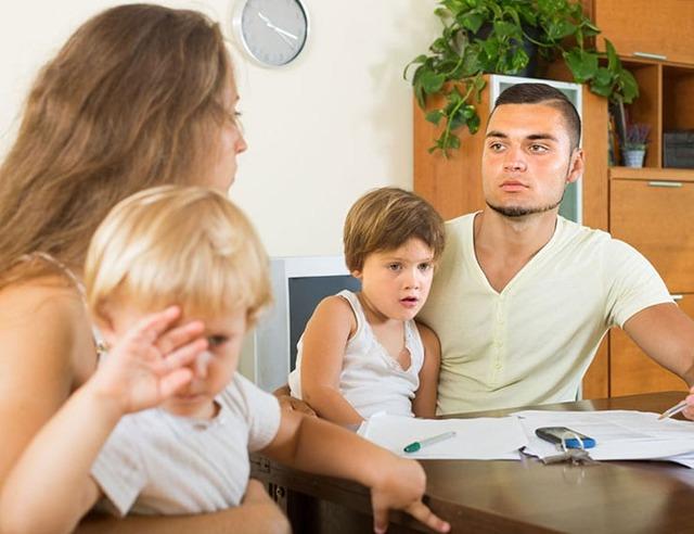 Развод с двумя маленькими детьми