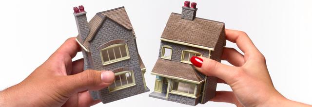 Как разделить квартиру, находящуюся в долевой собственности при разводе