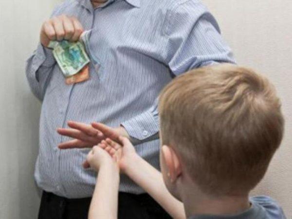 Как выплачивается долг по алиментам